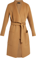 Joseph Tie-waist wool and cashmere-blend coat