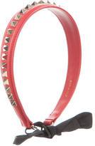 Valentino Rockstud Leather Headband