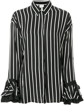 Versace Pre Owned Striped Shirt