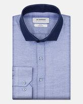 Le Château Tonal Cotton Blend Slim Fit Shirt