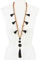 Anna & Ava Earl Boho Long Tassel Necklace