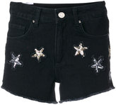 Zoe Karssen star embellished shorts