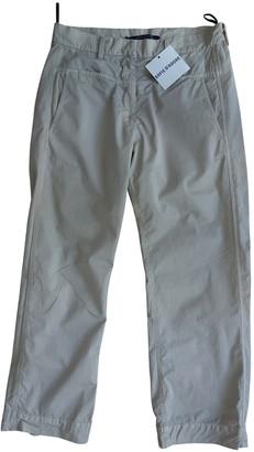 Sofie D'hoore Beige Cotton Trousers