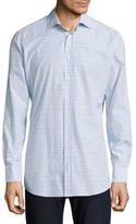Luciano Barbera Striped Casual Button-Down Shirt