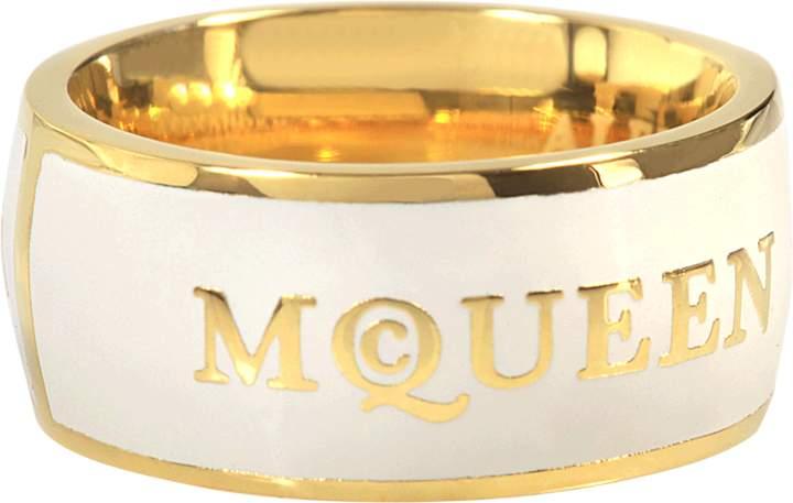 Alexander McQueen Enamel Ring