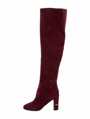 Jimmy Choo Suede Over-The-Knee Boots
