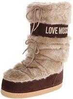 Women's Faux-Fur Trimmed Snow Rain Boot