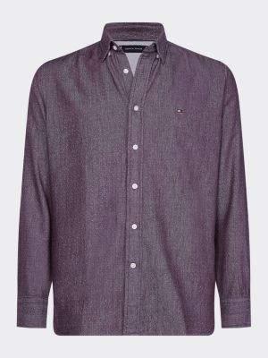 Tommy Hilfiger Regular Fit Flannel Dot Print Shirt