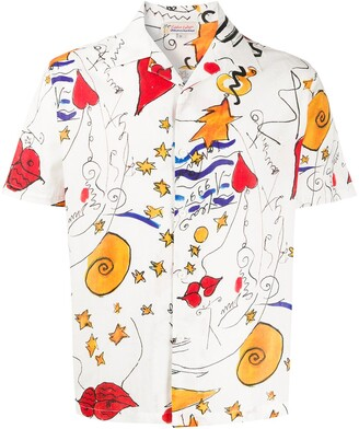 Esteban Cortazar Miami Mi Amor short-sleeved shirt