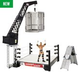 WWE Crash Cage Playset and Triple H Figure