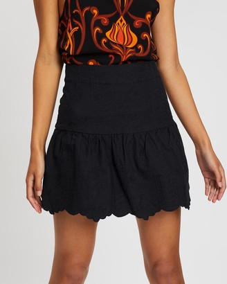 Lenni The Label Blur Zip Skirt