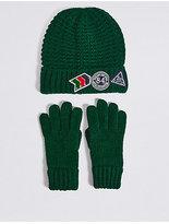 Marks and Spencer Kids' Hat & Gloves Set