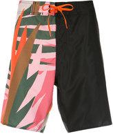 OSKLEN printed bermuda shorts