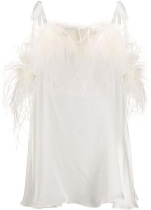 Gilda and Pearl Esme satin babydoll dress