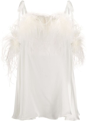 Gilda & Pearl Esme satin babydoll dress