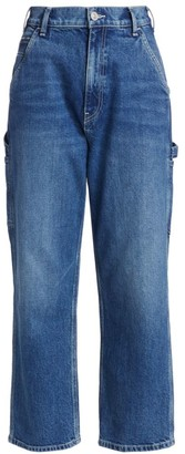 Hudson Carpenter High-Rise Loose Straight Jeans