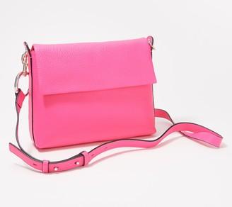 Vince Camuto Pebble Leather Crossbody Bag - Palo