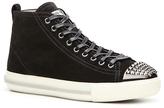 Miu Miu Suede Studded Sneaker