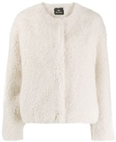 Paul Smith regular-fit faux-fur jacket