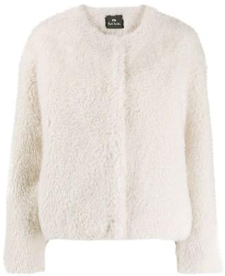 Paul Smith Regular-Fit Faux-Fur Jacket