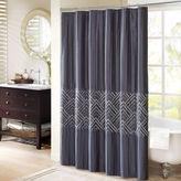 Madison Park Julien Embroidered Shower Curtain