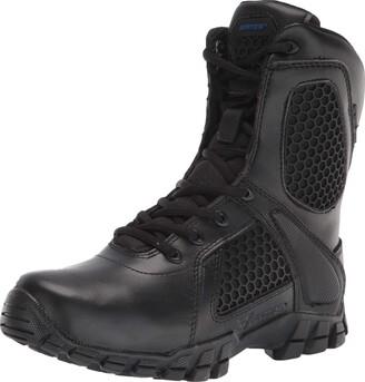 "Bates Footwear Men's Shock 8"" Side Zip"