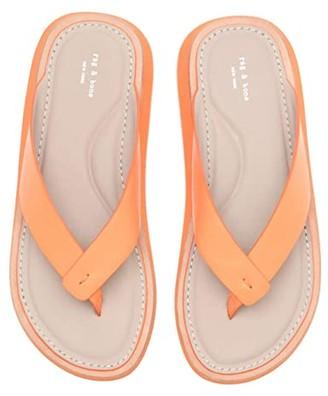 Rag & Bone Parker Thong Sandal (Antique White) Women's Shoes
