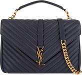 Saint Laurent Monogram collège leather satchel