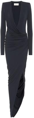 Alexandre Vauthier Asymmetric stretch-jersey gown