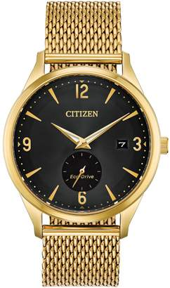 by the way. Citizen Quartz Goldtone Stainless Steel Bracelet Watch