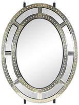 One Kings Lane Vintage Grand Vintage Venetian-Style Oval Mirror