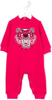 Kenzo embroidered logo romper - kids - Cotton - 6 mth