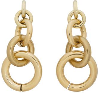 Laura Lombardi Gold Isa Earrings