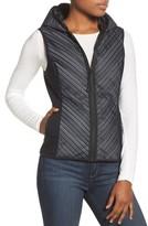Blanc Noir Women's Chevron Reflective Down Vest