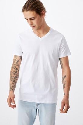 Cotton On Essential Vee Neck T-Shirt