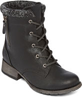 No Zipper Combat Boots - Boot Hto