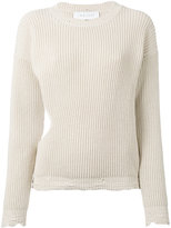 IRO cut-out jumper - women - Cotton - S