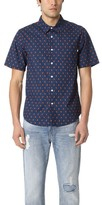 Stussy Short Sleeve Mini Paisley Shirt