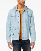Lrg Men's Hooded Jean Jacket