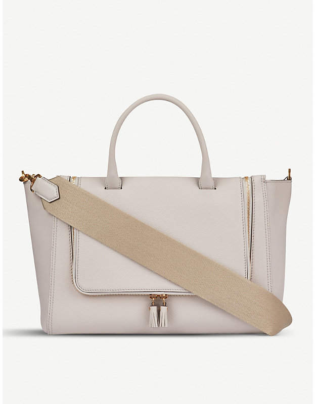 Anya Hindmarch Small Vere grained leather tote bag