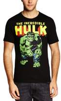 Logoshirt Men's Marvel - Hulk Crew Neck Short Sleeve T-Shirt