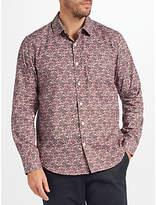 John Lewis Lotus Floral Print Shirt