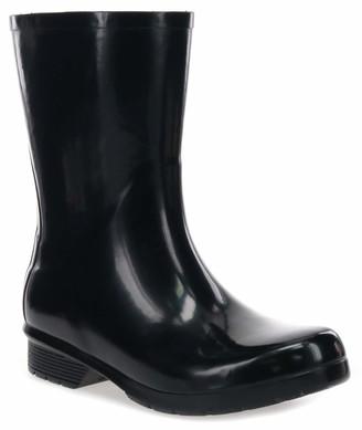 Chooka Women's Waterproof Polished Mid Rain Boot