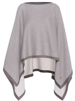 Loro Piana Asymmetric Duo cashmere cape