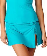 Leilani Teal Classics Bikini Skirt
