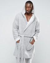 Asos Loungewear Brushed Cotton Robe