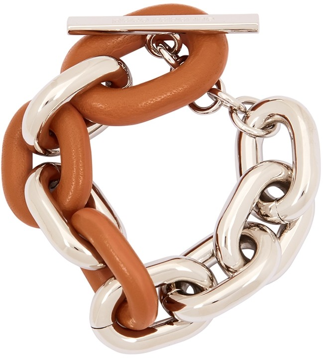Thumbnail for your product : Paco Rabanne XL Link Silver-tone Chain Bracelet