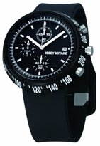 Issey Miyake Unisex Trapeziod Black Watch IM-SILAT005