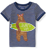 Joules Baby/Little Boys 12 Months-3T Archie Stripe Bear Short-Sleeve Tee