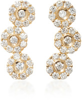 Hueb 18K Gold Diamond Earrings